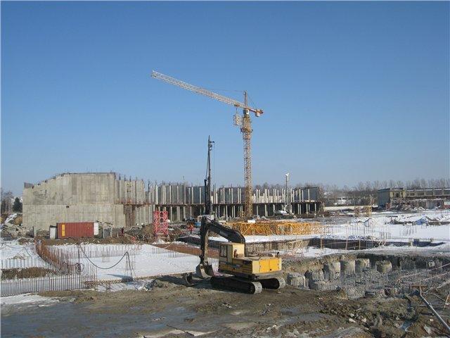 Продолжается строительство нового