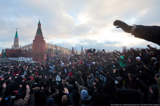 Гейдар Джемаль: Беспорядки на Манежке – акция против Медведева