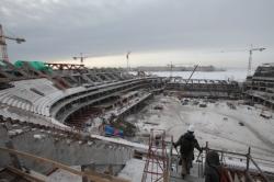 """Власти Санкт-Петербурга объявили конкурс на право освоения последних 12,5 млрд руб., выделяемых на завершение строительства """"Зенит-Арены"""""""