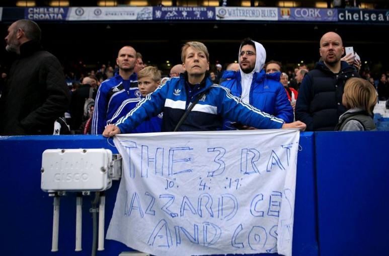 Фанаты «Челси» освистали футболистов, из-за которых сократили Моуриньо