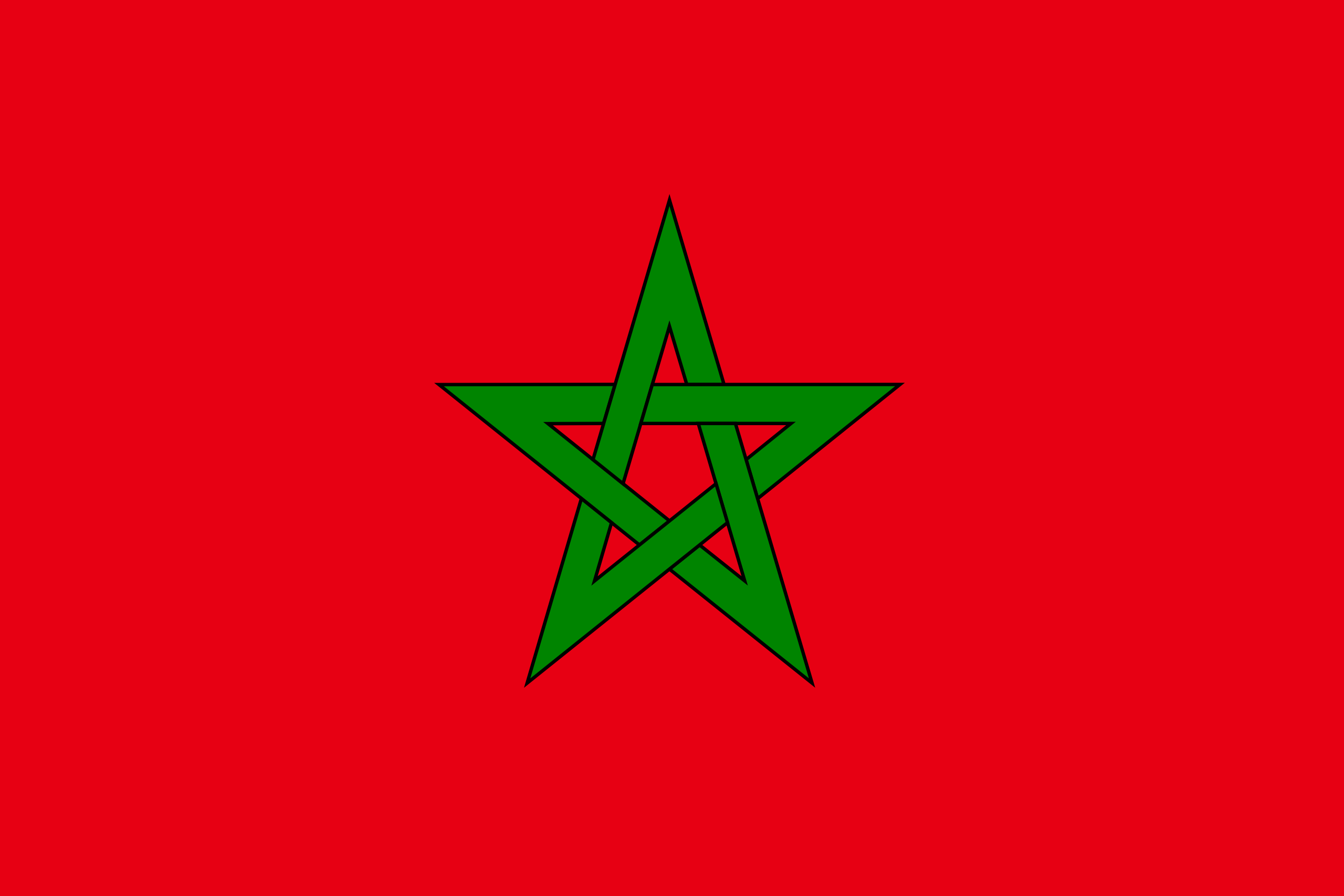 картинки марокко флаг волк
