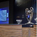 Жеребьевка 1/8 финала Лиги чемпионов УЕФА. Онлайн