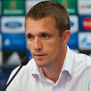 Виктор Гончаренко: мы забили все голы со стандартов? Если бы не было моментов с игры, можно было бы беспокоиться (видео)